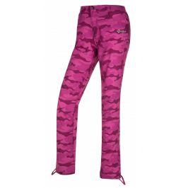 Dámské kalhoty Kilpi Mimicri W (2019) Velikost: M (38) / Barva: růžová