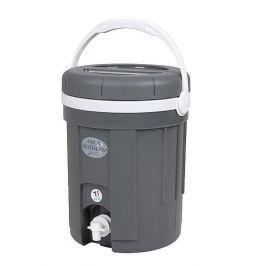 Nádoba na nápoje Eda Water and juice 4l Barva: šedá