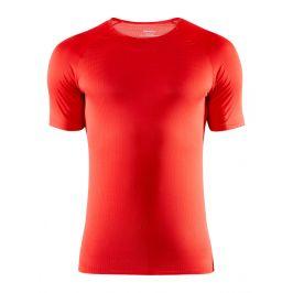 Pánské triko Craft Nanoweight SS Velikost: M / Barva: červená