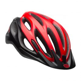 Cyklistická helma Bell Traverse Mat Velikost helmy: 58-62 cm / Barva: červená