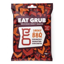Pražení cvrčci Eat Grub Smoky Barbecue