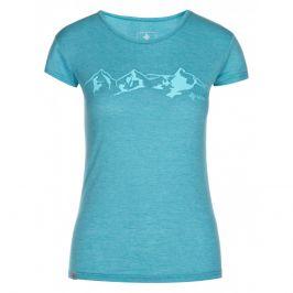Dámské triko Kilpi Garove-W Velikost: M / Barva: modrá