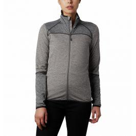 Dámská fleecová mikina Columbia Baker Valley FZ Fleece Velikost: S / Barva: šedá