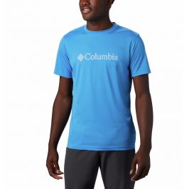 Pánské triko Columbia Zero Rules™ Graphic Velikost: L / Barva: modrá