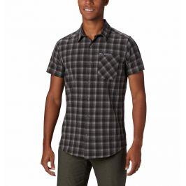 Pánské triko Columbia Triple Canyon SS Shirt Velikost: M / Barva: šedá