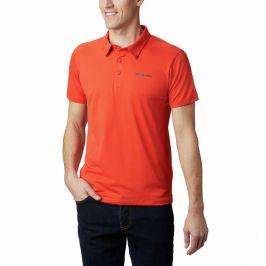 Pánské polo Columbia Triple Canyon™ Tech Polo Velikost: M / Barva: oranžová