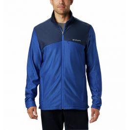 Pánská bunda Columbia Maxtrail Midlayer Fleece Velikost: M / Barva: modrá