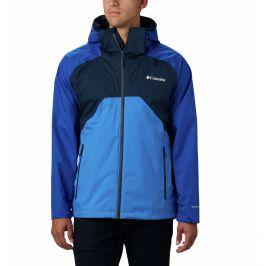 Pánská bunda Columbia Rain Scape Jacket Velikost: M / Barva: modrá