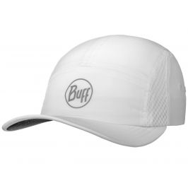Kšiltovka Buff Run Cap Solid Barva: bílá