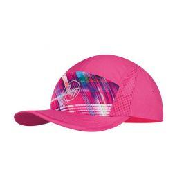 Kšiltovka Buff Run Cap B-Magik Barva: růžová