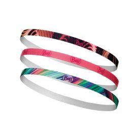 Čelenky Buff Hairband (3ks) Barva: černá/růžová