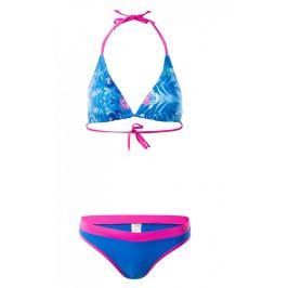 Dámské plavky Aquawave Aziba WMNS Velikost: S / Barva: modrá/růžová