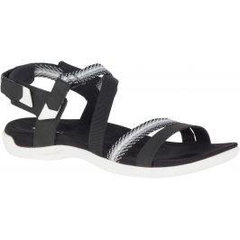 Dámské sandály Merrell District Mendi Backstrap Velikost bot (EU): 38 / Barva: černá/bílá