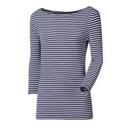 Dámské triko Progress OS Barca 24NX 3/4 rukáv Velikost: S / Barva: modrá/bílá
