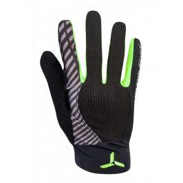 Cyklorukavice Silvini Team MA1413 Velikost rukavic: XXL / Barva: černá/zelená