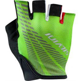 Pánské cyklo rukavice Silvini Team MA1412 Velikost rukavic: M / Barva: zelená