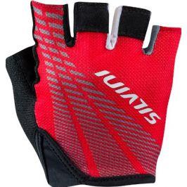 Dámské cyklo rukavice Silvini Team WA1414 Velikost rukavic: S / Barva: červená