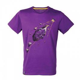 Pánské triko Singing Rock Rocket Velikost: M / Barva: fialová