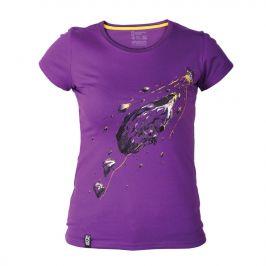 Dámské triko Singing Rock Rocket Velikost: S / Barva: fialová
