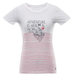 Dámské triko Alpine Pro Marina Velikost: XS / Barva: bílá