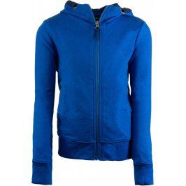 Dětská mikina Alpine Pro Deneso Dětská velikost: 140-146 / Barva: modrá