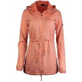 Dámská bunda Alpine Pro Erana Velikost: S / Barva: oranžová