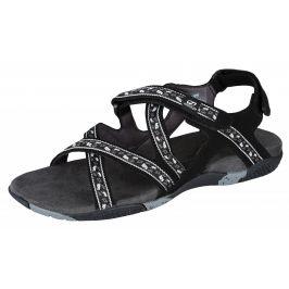 Dámské sandály Hannah Fria Lady (leaf) Velikost bot (EU): 37 / Barva: černá