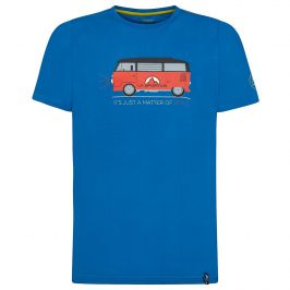 Pánské triko La Sportiva Van T-Shirt M Velikost: M / Barva: modrá