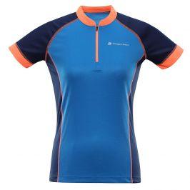 Dámský cyklistický dres Alpine Pro Sorana Velikost: XS / Barva: modrá