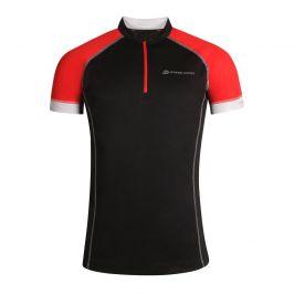 Pánský cyklistický dres Alpine Pro Soran Velikost: S / Barva: černá