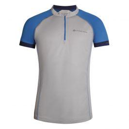 Pánský cyklistický dres Alpine Pro Soran Velikost: L / Barva: šedá
