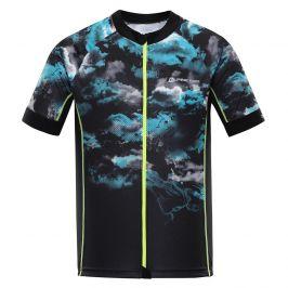 Pánský cyklistický dres Alpine Pro Mark Velikost: S / Barva: černá