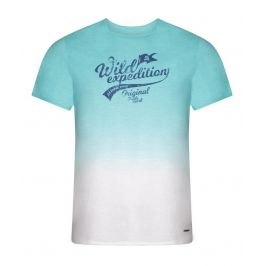 Pánské triko Alpine Pro Gang Velikost: S / Barva: modrá/bíla
