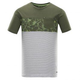 Pánské triko Alpine Pro Miner Velikost: XS / Barva: zelená