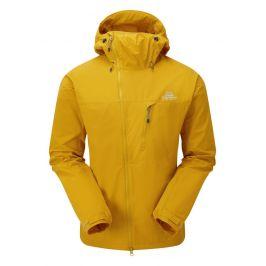 Pánská bunda Mountain Equipment Squall Hooded Jacket Velikost: L / Barva: žlutá