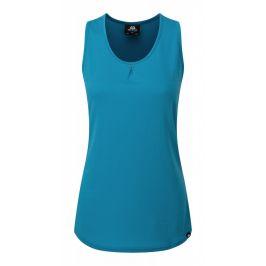 Dámské tílko Mountain Equipment Equinox Vest Velikost: XS (8) / Barva: modrá