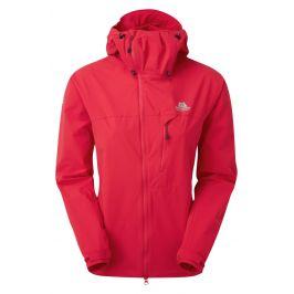 Dámská bunda Mountain Equipment Squall Hooded Wmns Jacket Velikost: XS (8) / Barva: lososová