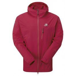 Pánská bunda Mountain Equipment Echo Hooded Jacket Sangria Velikost: M / Barva: červená