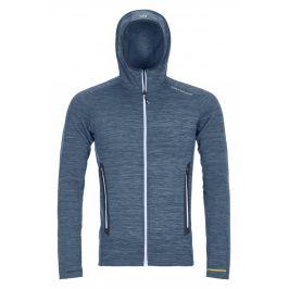 Pánská bunda Ortovox Fleece Light Melange Hoody M Velikost: XL / Barva: modrá