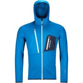 Pánská mikina Ortovox Fleece Grid Hoody M Velikost: L / Barva: modrá