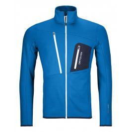 Pánská mikina Ortovox Fleece Grid Jacket Velikost: L / Barva: modrá
