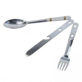 Cestovní příbor Regatta Steel Cutlery Set Barva: stříbrná