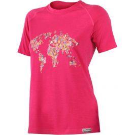Dámské funkční triko Lasting Flower Velikost: S / Barva: růžová