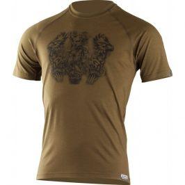 Pánské funkční triko Lasting Hero Velikost: M / Barva: zelená