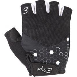 Dámské rukavice Etape Betty Velikost rukavic: S / Barva: černá/bílá