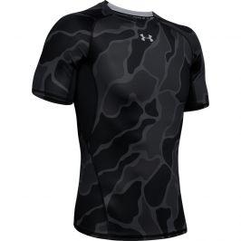 Pánské triko Under Armour HG ARMOUR SS NOV Velikost: M / Barva: černá