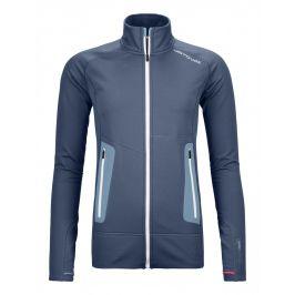 Dámská mikina Ortovox W's Fleece Light Jacket Velikost: M / Barva: modrá