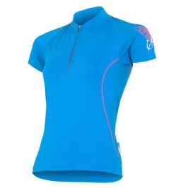 Dámský cyklistický dres Sensor Entry Velikost: S / Barva: modrá