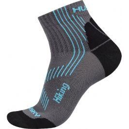Ponožky Husky Hiking New Velikost ponožek: 36-40 / Barva: šedá/modrá