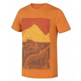 Pánské triko Husky Tash M Velikost: M / Barva: oranžová
